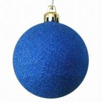 China Powder Ball Ornament Christmas Craft, Lovely Addition To Home and Hotel Decorations on sale
