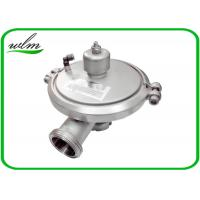 Buy cheap Male Thread Sanitary Pressure Relief Valve , Stainless Steel Pressure Relief Valve product
