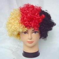 Quality Soccer Fans Wig( Football Fans Wig) for sale