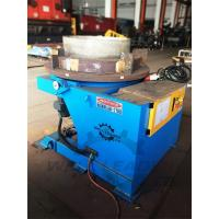Buy cheap 2000 Kg Carring Rotary Welding Positioner 1100mm Table Slotted 300mm Gravity from wholesalers
