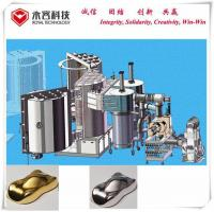 Buy cheap PVD Hard Chrome  Vacuum Metalizing Machine,  Chrome Plating Mirror Finish, Black Chrome PVD Plating product