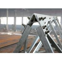 Buy cheap 60° angle steel tower manufacturer, cold bent angular tower from wholesalers