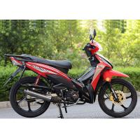 Buy cheap 110CC Super Cub Motorcycle , Underbone Motorcycle With Big Rear Carrier product