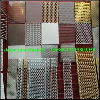 Quality Decorative opening perforated metal sheet/Decoration perforated sheet for sale