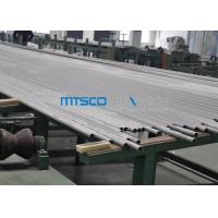 Petroleum Cold Rolled Duplex Stainless Steel Tube 6096MM Length PED Certification