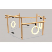 Buy cheap Childrens Plastic EN71 Outdoor Swing Sets For 3-12 Years Old from wholesalers