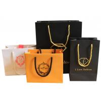 Buy cheap Wholesale high grade hot factory cheap printed paper carrier bags from wholesalers
