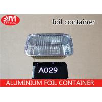 China Foods Packaging Aluminium Disposable Food Container, Aluminum Foil Plate A029 on sale