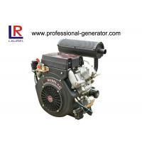 Buy cheap 20HP Air Cooled Diesel Powered Engine V Twin , 4 Stroke Electric Start product