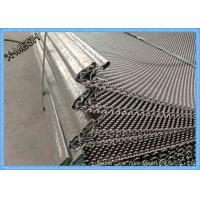 Buy cheap 45# Steel Woven Mining Screen Mesh Galvanized / Painted Surface Treatment product