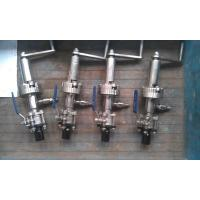 Buy cheap Closed Loop Sampling  Stainless Steel Front Angle Facing Flow Direction product