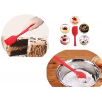 Buy cheap Heat Resistant Silicone Kitchen Spatulas , Silicone Spatula Knife For Chocolate Stirring product