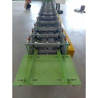 Buy cheap 400mm 3kw Ridge Cap Roll Forming Mahine For Color Steel Sheet 0.3-0.6mm Thickness product