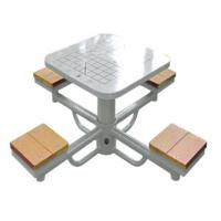 China outdoor wooden fitness equipment--WPC China Cheap high quality outdoor chess table In POPULAR HOT SALE on sale
