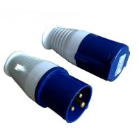 Industrial Power Cables : Power cables with industrial plug and socket