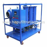 Buy cheap portable insulation oil filter machine, remove moisture,gas, PCB,ZY Series Single Stage Vacuum Transformer Oil Purifier product