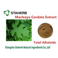 Buy cheap Antibacterial Plant Macleaya Cordata Extract Total Alkaloids 20%-60% Brown Color product