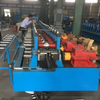 Buy cheap Full Automatic Galvanized Steel Door Frame Cold Roll Forming Machine product