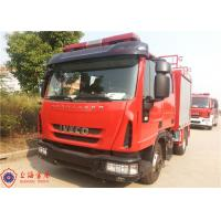 Buy cheap Gross Weight 7800kg Rescue Fire Truck , Human Engineering Design Foam Fire Equipment Truck product