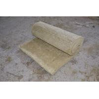 Buy cheap Fire Resistant Rockwool Insulation Blanket , Furnaces Rock Wool Roll product