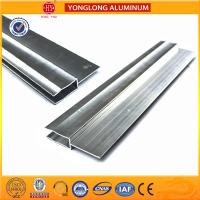 Silver / Champagne Anodized Aluminum Extrusion Profiles For Industrial