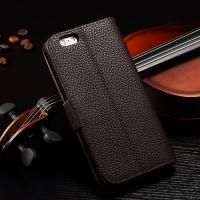 Buy cheap Joint Litchi IPhone Leather Wallet Case For Iphone 6 Plus Paint Oil Business Style product