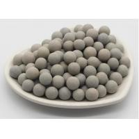 Buy cheap Grey White Inert Catalyst Bed Support Balls Superior Grinding Efficiency from wholesalers