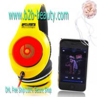 Buy cheap Monster Beats By Dr.Dre Lamborghini Headphones-yellow product