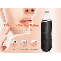 Buy cheap Rechargeable Ultrasonic Skin Scrubber Machine Facial Skin Scraper CE ROHS Approved product