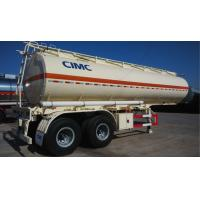 Buy cheap Vibration Resistance Fuel Tank Trailer / Crude Oil Tanker Trailer For Chemical Liquid product