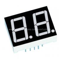 Quality Dual-digit 7-segment Display, Common Anode for sale