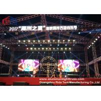 Buy cheap Bolt Lightweight Aluminium Alloy Truss System Sliver / Black Coor 300*300mm Size product
