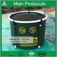 Buy cheap High Quality Plastic PVC Collapsible Frame Round Fish Tank product