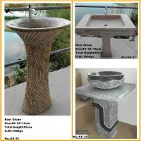 Outdoor Stone Sink : stone pedestal sink - quality stone pedestal sink for sale