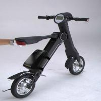 Buy cheap Foldable Electric Mobility Scooter Bluetooth Speaker Smart Bike For Teeneager from Wholesalers