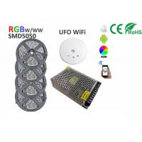 Buy cheap 20m LED Strip Light Kit 5050 RGBW RGBWW 1200LEDs 60LEDs/M UFO WiFi controller product