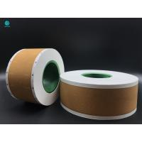 Buy cheap 58mm Tobacco Filter Paper , Custom Logo Printed Cork Natural Permeability Tipping Paper product
