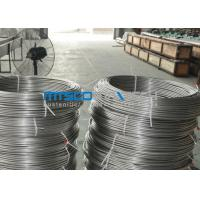 Buy cheap ASTM A269 TP304 Stainless Steel Coiled Tubing Size 6.35mm x 1.65mm x 150m / coil product