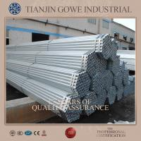 Buy cheap Q235 / Q345 scaffolding steel Hot Dipped Galvanized Pipe for coupler product