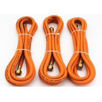 "Buy cheap 1/4"" Inch Flexible Propane Gas Hose , flexible gas hose Orange Color product"
