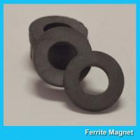 China Y35 Grade Permanent Ferrite Ring Magnet SrO / Bao And Fe2O3 Material on sale
