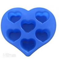 Buy cheap Silicon Kitchen Ware, Heart Shaped Silicone Mould For Cake / Chocolate / Candle / Soap product