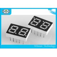 China Environmental Friendly Two Digit 7 Segment Display 0.39 Inch For Household Electronics on sale
