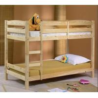 ikea modern bunk bed pine wood