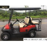 Buy cheap Off Road 4 Seater Electric Golf Buggy With Aluminum Chassis , Battery Powered product