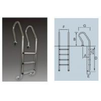 Buy cheap SF Series Stainless Steel Pool Ladder product