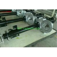 China Gas Powered Golf Cart Transmission Go Kart Transaxle 850mm Axle Length on sale