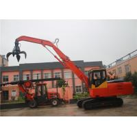 Buy cheap Hydraulic Rotary Tools, Hydraulic rotating grapple crawler excavator with 58kw diesel engine power product