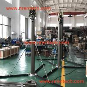 Buy cheap 12m lockable pneumatic telescopic mast 150kg payloads product