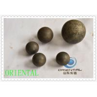 Dia 100mm Steel Grinding Media Balls for Cement Industry , Forged steel ball